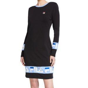 Women's Fila Luna Dress Navy